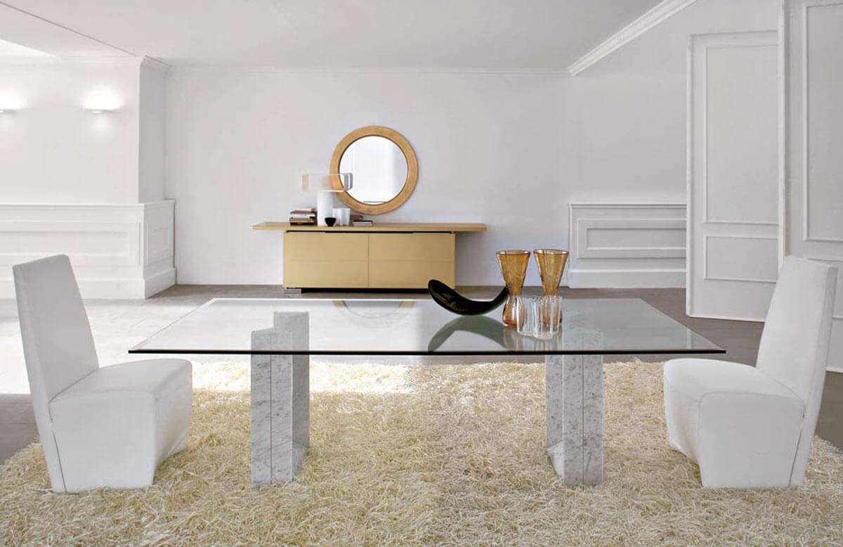 Стеклянный стол купить для интерьера