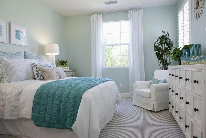 Прекрасное оформление спальни