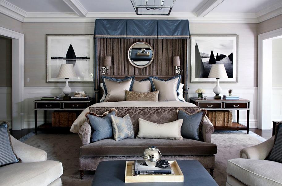 Роскошная спальня. Какой секрет?