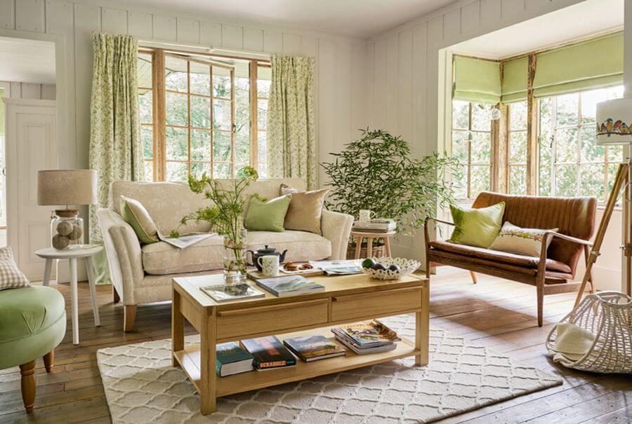 Мебель в стиле кантри для интерьера дома